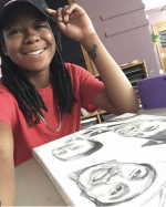 Janasia, School-age art teacher
